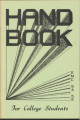 1954-1955 EMC handbook for college students